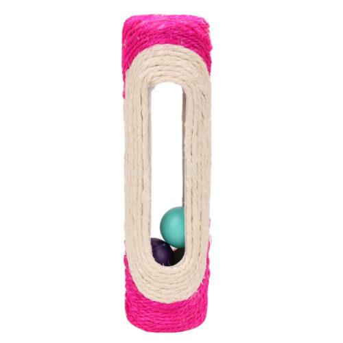 Когтеточка игрушка для кошки с мячиками шариками внутри