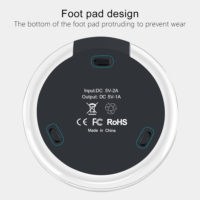 OLAF fantasy Беспроводное универсальное круглое зарядное устройство для Samsung, iPhone и других смартфонов