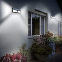 Mpow 54 Водонепроницаемый уличный светодиодный светильник-лампа на солнечных батареях