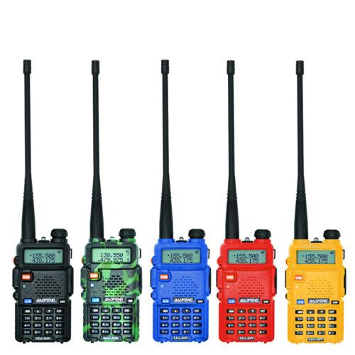 Двухдиапазонная рация Baofeng UV-5R 136-174MHz & 400–520MHz, 127 каналов