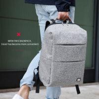 MARK RYDEN городской мужской водонепроницаемый рюкзак для ноутбука с usb зарядкой