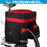 ROSWHEEL Водонепроницаемый велорюкзак (велоштаны) сумка 60 л на багажник велосипеда