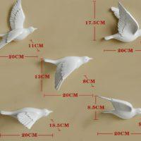 Декоративные птицы на стену