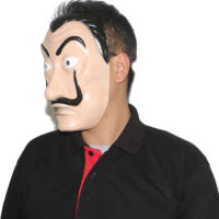 """Маска Сальвадора Дали из сериала Бумажный дом """"La casa de papel"""""""