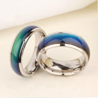 Мужское и женское кольцо-хамелеон, меняющее цвет в зависимости от настроения