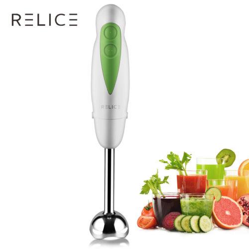 Ручной электрический блендер RELICE погружного типа для измельчения и смешивания продуктов питания