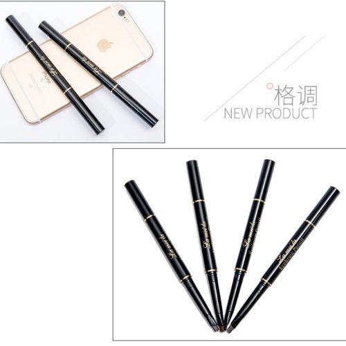 Двусторонний карандаш с кисточкой для оформления бровей (4 оттенка)