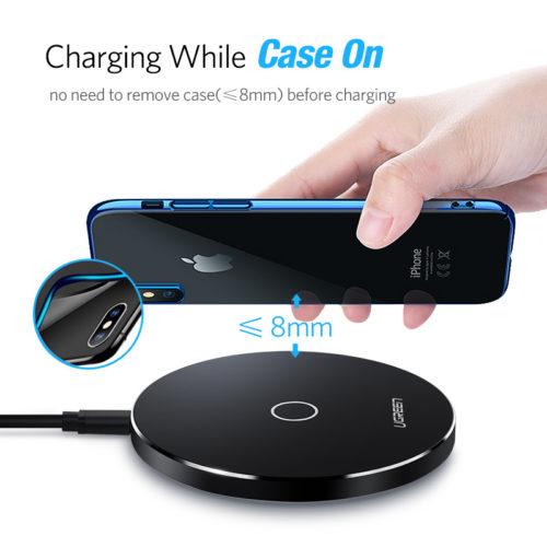 Ugreen Беспроводное универсальное зарядное устройство для Samsung, iPhone, HTC, Nokia и других