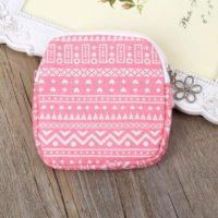Тканевая сумочка чехол для прокладок и других средств личной интимной гигиены