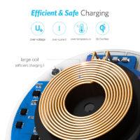 Подборка беспроводных зарядок для Samsung и iPhone на Алиэкспресс - место 6 - фото 4