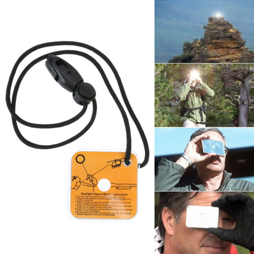 Сигнальное зеркало гелиограф (предназначено для дневной сигнализации терпящими бедствие)