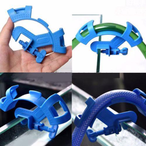 Пластиковая скоба держатель для фиксации изгиба шланга