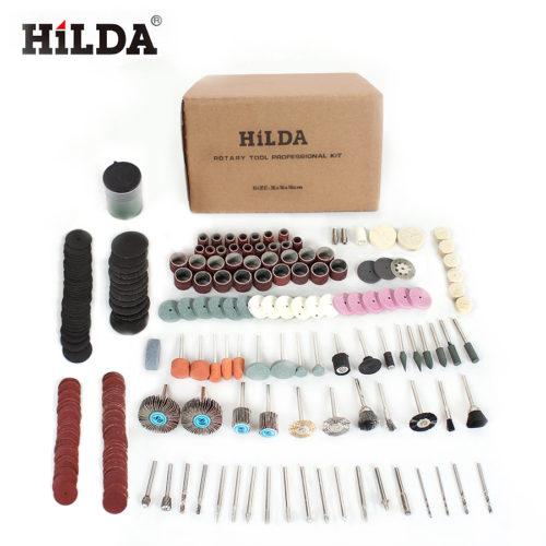 HILDA Набор насадок для вращающихся инструментов для полировки 248 шт.