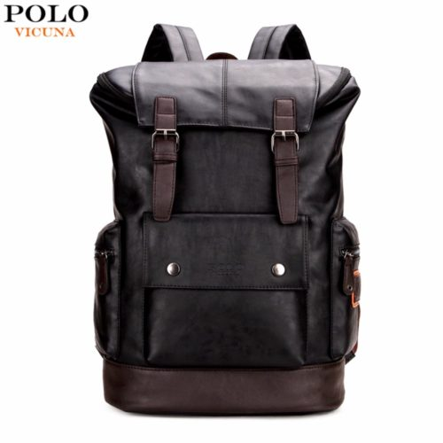 VICUNA POLO Дорожный мужской большой рюкзак из искусственной кожи для путешествий