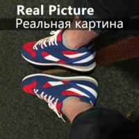 Мужские и женские спортивные летние дышащие кроссовки для бега на шнуровке 35-44 размеры