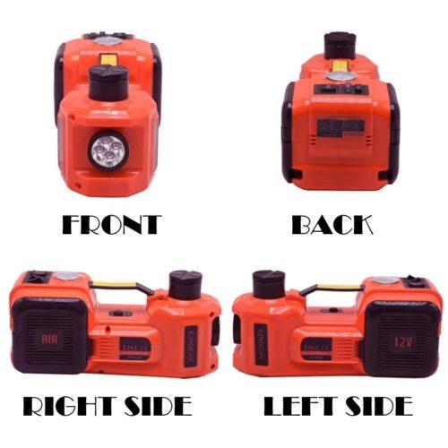 Электро домкрат + гайковерт + мини компрессор