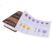 Набор схем 23 шт. для отработки кондитерских узоров кремом