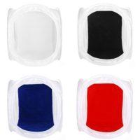 Складной лайтбокс фотобокс 40 см (4 разных цвета)