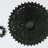 Велосипедная кассета SunRace на 9 скоростей с передаточным 11-40