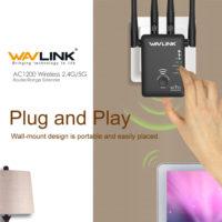 Wavlink AC1200 Беспроводной WI-FI Маршрутизатор ретранслятор