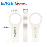 EAGET U9 металлическая флешка карта памяти брелок для ключей 8/16/32 Gb