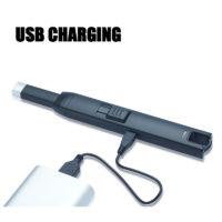 Плазменная металлическая кухонная USB зажигалка