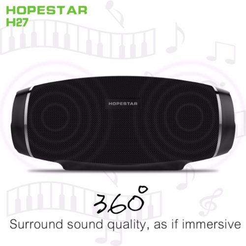 Hopestar H27 водонепроницаемая портативная bluetooth колонка динамик