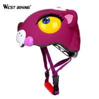Детские велосипедные шлемы в виде животных