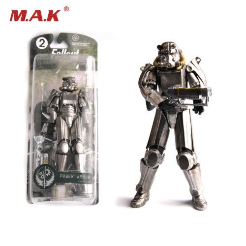 Фигурки Power Armor и Lone Wanderer из Fallout 4