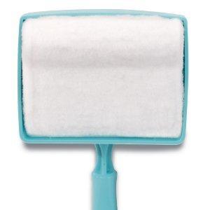 Выдвижная щетка с тряпкой из микрофибры для очистки и мытья плинтуса
