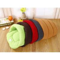 Теплый флисовый домик-кровать для домашних животных (собак, кошек)