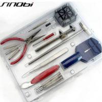 SINOBI Набор инструментов для ремонта наручных часов 16 шт.
