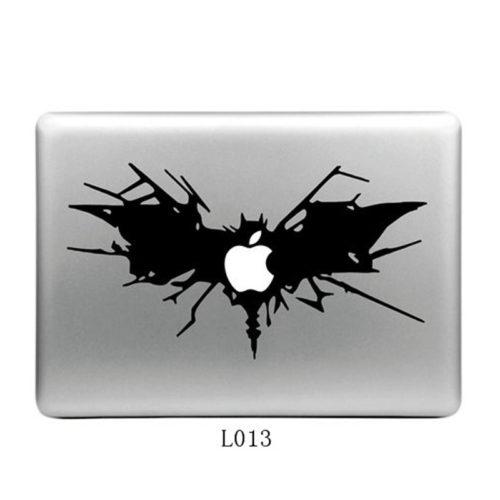 Виниловые стикеры наклейки Бэтмен на ноутбук Apple MacBook Pro Air
