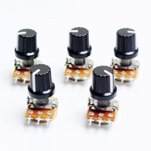 Потенциометры для Arduino на 10 кОм (5 шт)