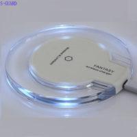 S-GUARD Qi Беспроводное универсальное круглое зарядное устройство для Samsung, iPhone, LG и других смартфонов