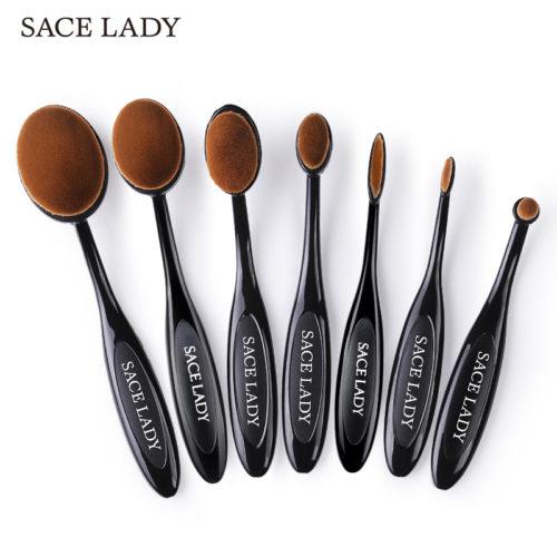 SACE LADY кисти-щетки для макияжа, для тональной основы, пудры и др. (разные наборы)