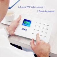 Охранная GSM сигнализация KERUI g18