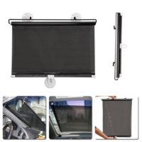 Автомобильная рулонная сетчатая защитная шторка на переднее и боковые окна 40 x 60 см