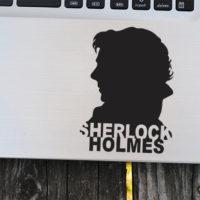 Виниловая наклейка Шерлок Холмс