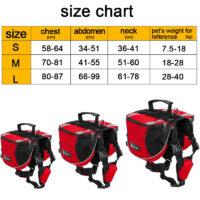 Tailup Рюкзак на спину собаки (разные размеры и цвета)