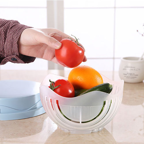Чаша для нарезки овощей для салата