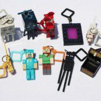 Брелки с фигурками героев Minecraft 10 шт.
