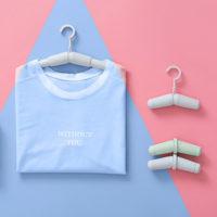 Складная выдвижная вешалка плечики для одежды