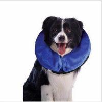 Надувной защитный воротник для собак и кошек (чтобы питомцы не лизали раны или швы после операции)