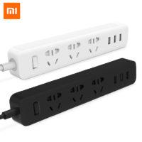 Многофункциональный удлинитель Xiaomi Power Strip с 3 USB-разъемами