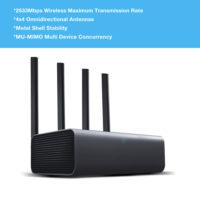Беспроводной роутер маршрутизатор Xiaomi Mi Wi-Fi Router Pro (R3P) 2533 Мбит/с 2.4 г/5 ГГц с 4 двухдиапазонными антеннами