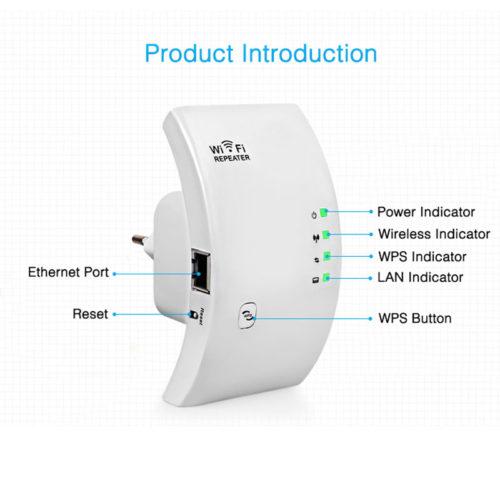 EASYIDEA Беспроводной усилитель-репитер-ретранслятор WiFi сигнала 300 Мбит/с