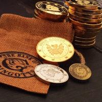 Сувенирные монеты банка Гринготтс