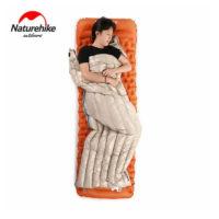 Сверхлегкий (570 г) спальный мешок с наполнителем из гусиного пуха NatureHike