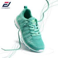 Женские спортивные сетчатые дышащие кроссовки на шнуровке для бега 35-44 размеры
